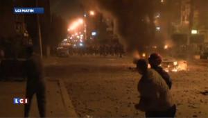 Egypte : Cinq victimes dans les affrontements autour du palais présidentiel