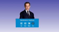 génération Sarkozy retour site compte à rebours