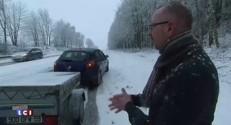 Pluie, verglas et neige : les Français surpris