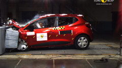Renault Clio 2012 Crash-test EuroNCAP