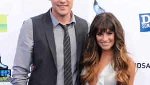 Cory Monteith et Lea Michele au Paleyfest Icon Awards 2013 en Californie le 27 février 2013