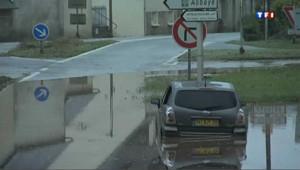 Inondations dans la région de Brest, de gros dégâts matériels