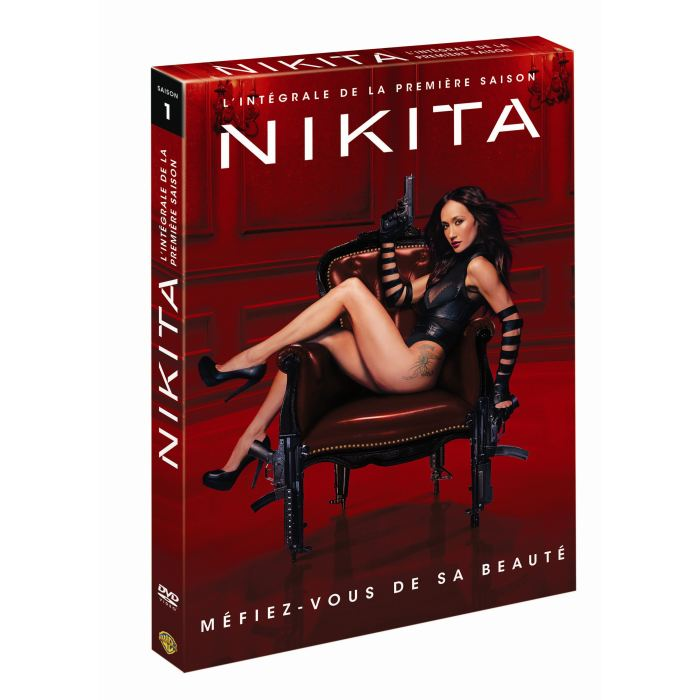Jaquette DVD Nikita saison 1. Avec Maggie Q.