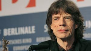 Mick Jagger au Festival International du Film de Berlin, le 7 février 2008