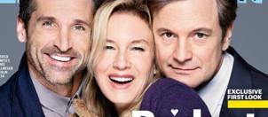 Renée Zellweger, Patrick Dempsey et Colin Firth en une d'Entertainment Weekly pour Bridget Jones 3.