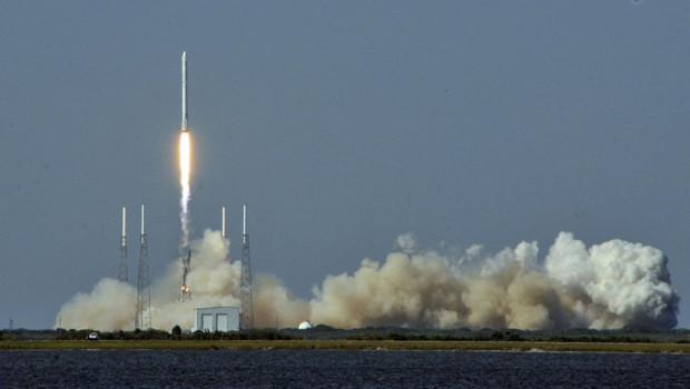 spacex atterrissage fusée