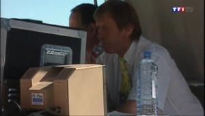 Le 20 heures du 25 juillet 2014 : La voix du Tour de France bient� la retraite : une journ�avec Daniel Mangeas - 1922.3813173217773