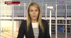 """Le 20 heures du 6 juillet 2015 : Dette grecque : la BCE """"ne veut pas couper le robinet et couler la Grèce"""" - 899"""