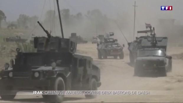 Les forces irakiennes lancent une offensive contre Daech à Falloujah
