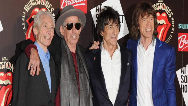 Les Rolling Stones  Londres en juillet 2012