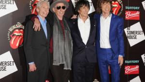 Les Rolling Stones à Londres en juillet 2012