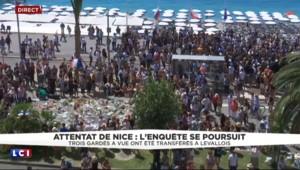 A Nice, la foule applaudit les pompiers et les forces de l'ordre