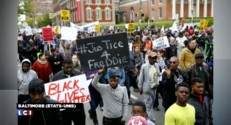 Brutalité policière aux Etats-Unis : des heurts en marge d'une manifestation à Baltimore