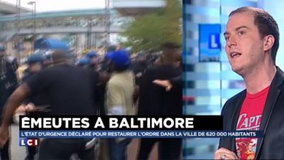 Émeutes à Baltimore : ces images que vous ne verrez pas à la télé