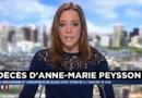 L'animatrice télé et radio Anne-Marie Peysson est décédée