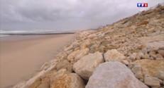 Le 13 heures du 3 mars 2015 : Gironde : la municipalité de Lacanau lance un appel aux dons pour restaurer ses plages - 1241.965