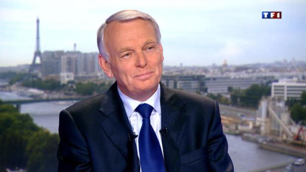 Le Premier ministre Jean-Marc Ayrault, invité sur TF1 le 6 juin 2012.