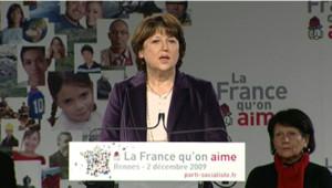 Martine Aubry Rennes