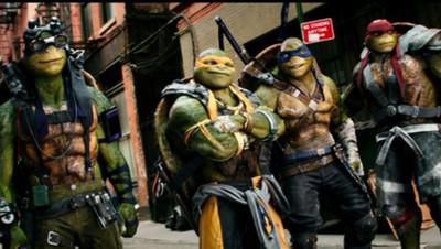 Un extrait du film Ninja Turtles 2.