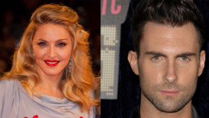 montage Madonna Adam Levine