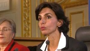 Rachida Dati présente sa réforme de la carte judiciaire à Rennes le 9 novembre/TF1
