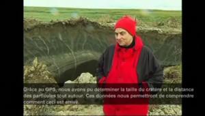 Russie : un mystérieux cratère apparaît en Sibérie