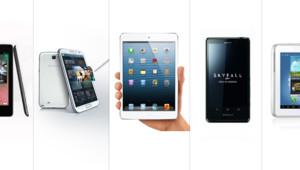 Tablettes et smartphones de Noël 2012