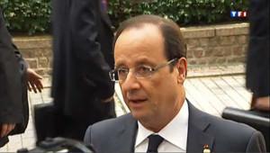 """UE : """"nous avons franchi des pas importants"""", dit Hollande"""