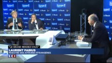 """Hongrie : Laurent Fabius juge """"scandaleuse"""" la construction d'un mur de barbelés"""
