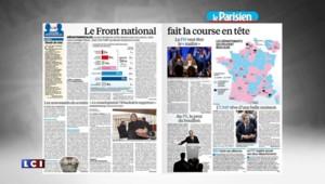 Le FN favori pour les départementales, Sarkozy à la une du Figaro ... la revue de presse du lundi 2 mars 2015