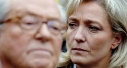 Jean-Marie Le Pen et Marine Le Pen