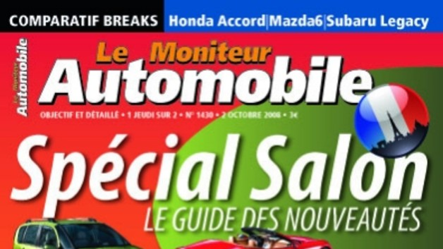 Sommaire 2 octobre 2008 - Le Moniteur Automobile