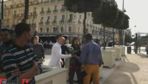 Une équipe de journalistes de la webtélé locale RennesTV a été prise à partie en marge d'un rassemblement de la Manif pour tous, dimanche 5 mai.