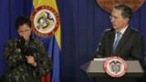 """En Colombie, """"la star, c'est Uribe"""" plus qu'elle"""