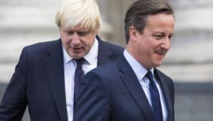 Boris Johnson David Cameron Londres Royaume-Uni