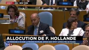 Droit de veto : Hollande lance une pique à Poutine et à la Russie