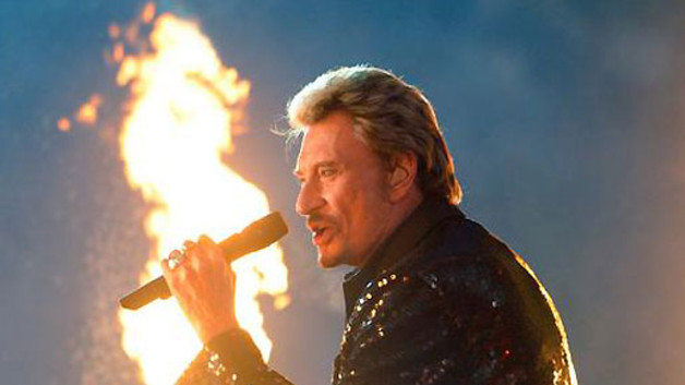 Johnny Hallyday, bte de scne