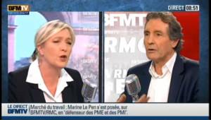 """Le Pen : """"M. Gilbert Collard est assez grand pour assumer ses propos"""""""