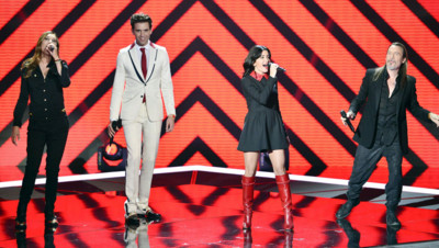 Les coachs de The Voice Mika, Jenifer, Florent Pagny et Zazie
