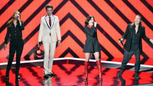 Les coachs de The Voice Mika, Jenifer, Florent Pagny et Zazie