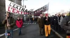 Manifestation à Lannion pour la protection de l'écosystème de la baie