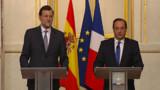 Hollande prend contact avec Rajoy, le Premier ministre espagnol