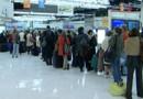 air france avion aéroport grève queue file attente avion