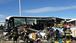 Au moins quatre morts dans la collision de deux bus à Seattle jeudi