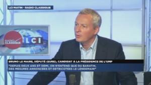 Bruno Le Maire sur Radio Classique
