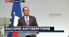 """Camp des Milles : """"Un lieu dédié à toutes les victimes"""", assure Hollande"""