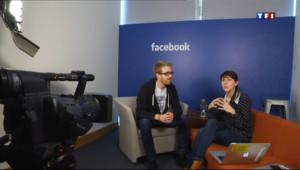 Le 20 heures du 26 avril 2013 : Quand Facebook aide les jeunes entreprises - 827.667