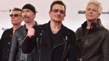 Le groupe U2 à Berlin en novembre 2014