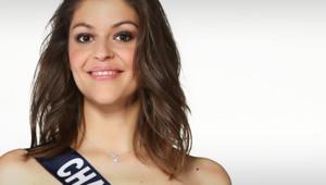 Mélissa Cervoni, Miss Champagne Ardenne 2014, prétendante au titre de Miss France 2015