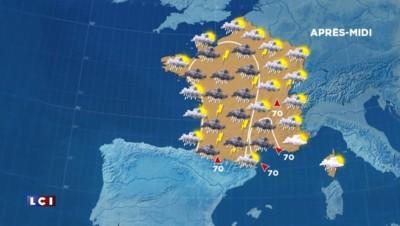 Météo du 26 avril 2015 : un temps fortement perturbé, il pleut presque partout